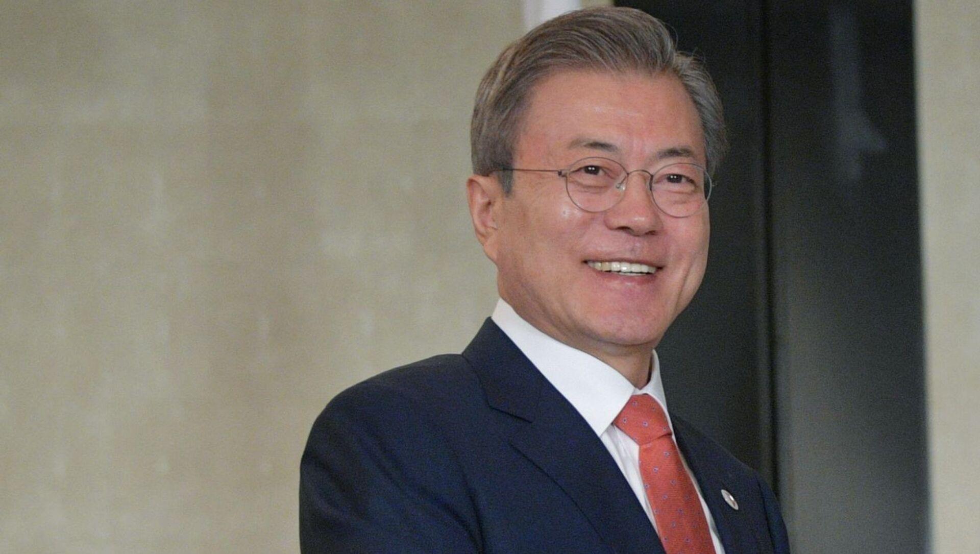 President of South Korea Moon Jae-in - Sputnik International, 1920, 01.08.2021