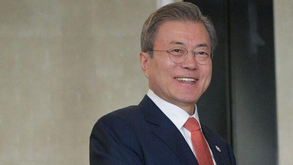 President of South Korea Moon Jae-in - Sputnik International