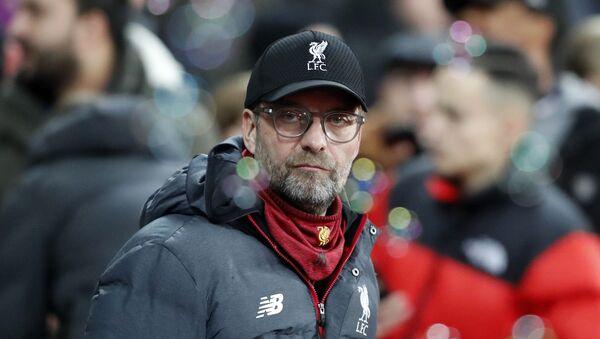 Liverpool's manager Jurgen Klopp looks on before the English Premier League soccer match between West Ham Utd and Liverpool at London Stadium in London, 29 January 2020 - Sputnik International