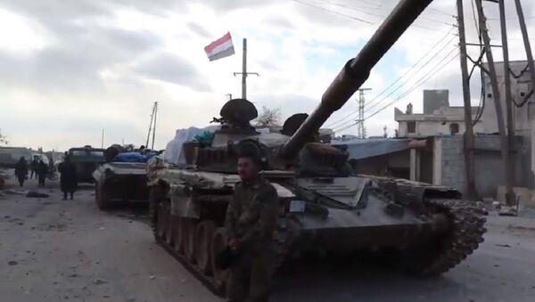 Syrian Army prepares to retake M-5 highway - Sputnik International
