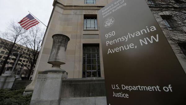 The U.S. Department of Justice building is seen in Washington, U.S., February 1, 2018.  - Sputnik International