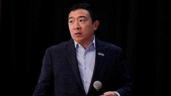 Democratic 2020 U.S. presidential candidate and entrepreneur Andrew Yang - Sputnik International