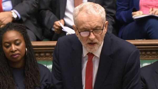 Jeremy Corbyn at House of Commons During PMQs 12 February 2020 no 2 - Sputnik International
