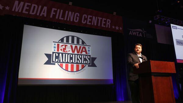 Iowa Democratic Party Chair Troy Price - Sputnik International