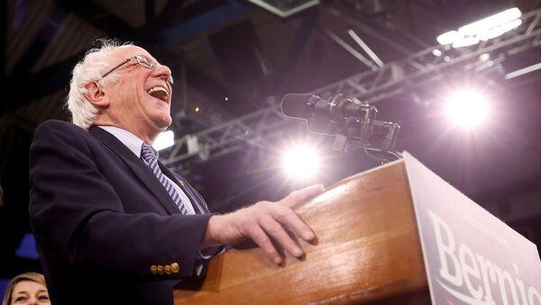 Democratic U.S. presidential candidate Senator Bernie Sanders - Sputnik International