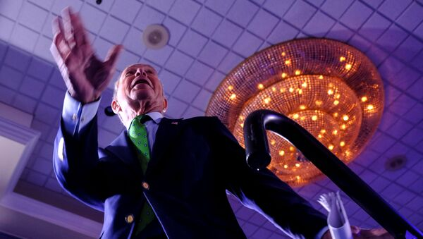 FILE PHOTO: Michael Bloomberg, the billionaire media mogul and former New York City mayor, now Democratic candidate gets on stage for his kick off 'United for Mike' at the Aventura Turnery Jewish Center and Tauber Academy Social in Miami, Florida, U.S., January 26, 2020 - Sputnik International