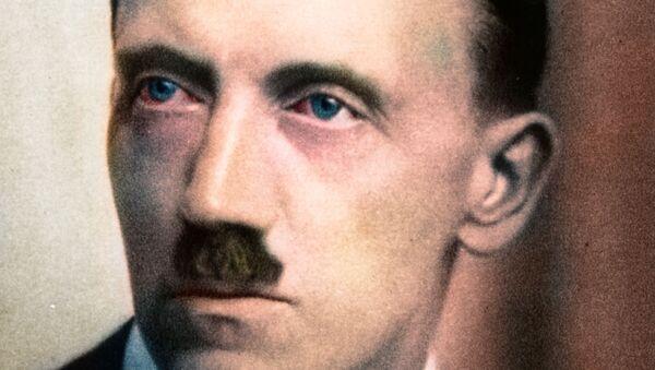 Hitler, colored portrait (1920's) - Sputnik International