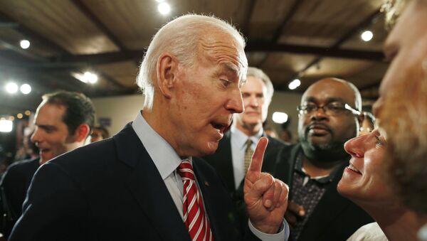 Democratic U.S. presidential candidate and former Vice President Joe Biden - Sputnik International