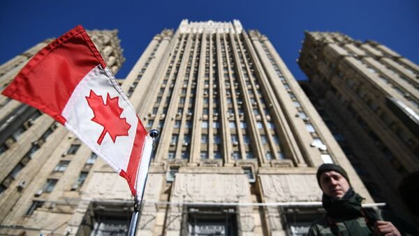 The building of the Russian Ministry of Foreign Affairs  - Sputnik International