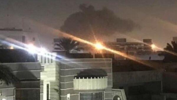 Rockets landed near the US embassy in Iraq, 16 February 2020 - Sputnik International