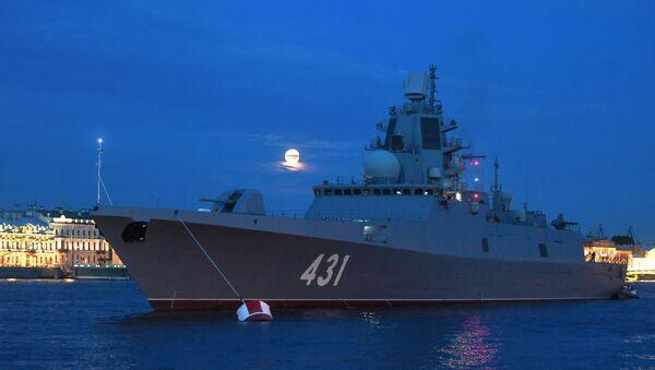 Russia's first Project 22350 frigate Admiral Flota Kasatonov - Sputnik International