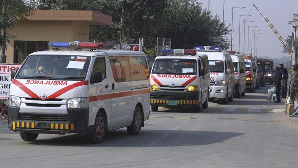 A convey of ambulances , Pakistan (File) - Sputnik International