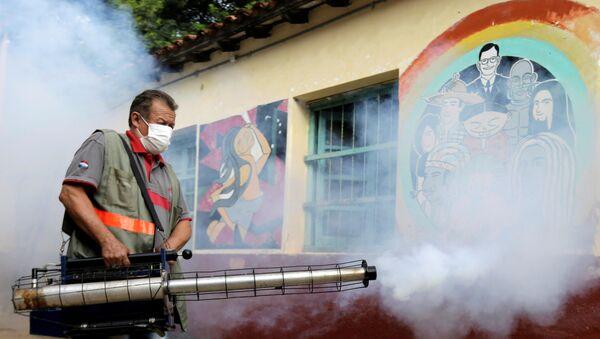 Fumogation at the San Lorenzo National School of San Lorenzo, Paraguay - Sputnik International