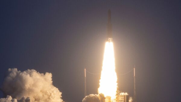 An Ariane 5 rocket at the European Space Center in French Guiana, on January 16, 2020 - Sputnik International