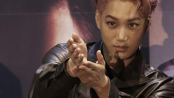 South Korean-Chinese boy group EXO member Kai - Sputnik International