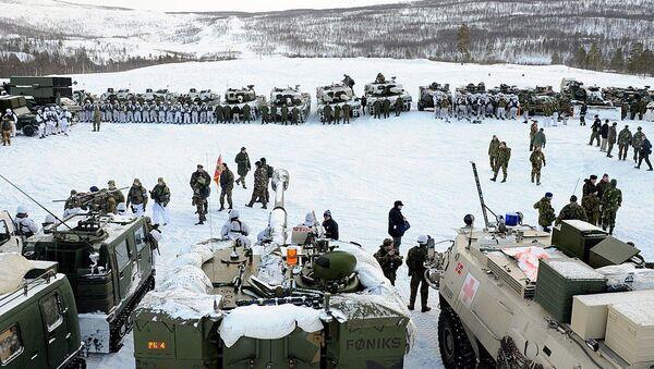 Cold Response military exercise  - Sputnik International