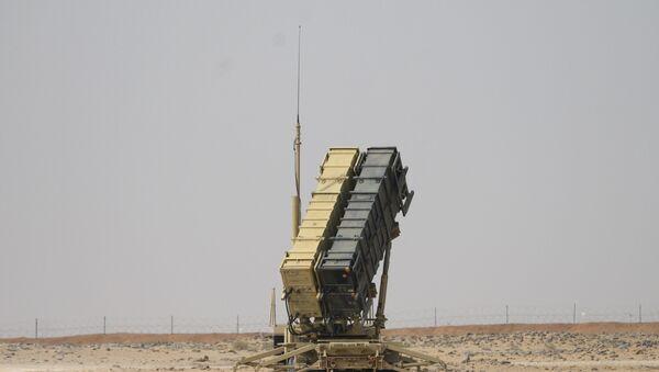 A Patriot missile battery is seen near Prince Sultan air base at al-Kharj on February 20, 2020.  - Sputnik International
