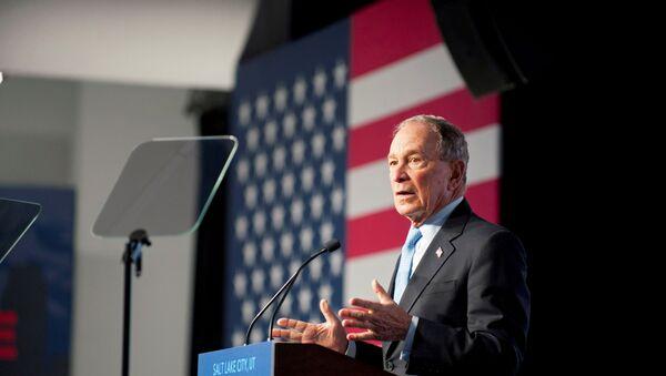 Democratic presidential candidate Mike Bloomberg holds a campaign rally in Salt Lake City, Utah, U.S., 20 February 2020.   - Sputnik International