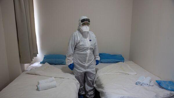 Israeli Professor Galia Rahavm at the Chaim Sheba Medical Centre at Tel Hashomer in Ramat Gan, Israel - Sputnik International