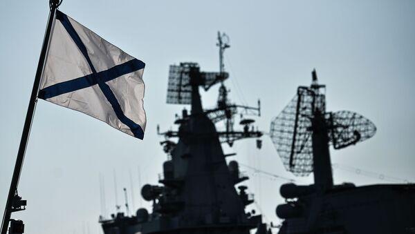 Radar systems aboard vessels of the Russian Black Sea Fleet as they dock in their home base in Sevastopol. - Sputnik International