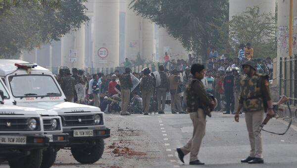 Protests in Delhi - Sputnik International