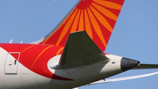 VT-ANL Boeing 788 Air India Tail  - Sputnik International