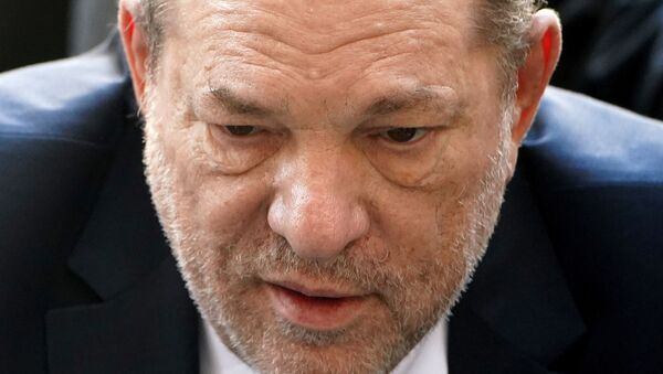 Film producer Harvey Weinstein arrives at the New York Criminal Court during his ongoing sexual assault trial in the Manhattan borough of New York City, New York, U.S., February 24, 2020 - Sputnik International