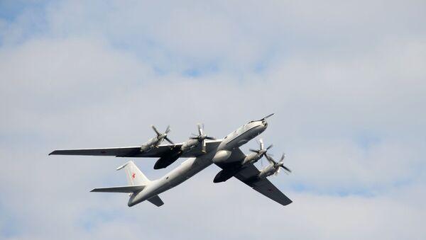 Russian Tu-142 (ASW) aircraft on 27 July 2014 - Sputnik International