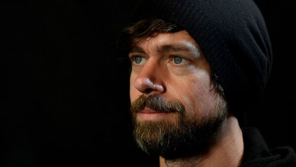 Jack Dorsey, co-founder of Twitter and fin-tech firm Square, sits for a portrait during an interview with Reuters in London, Britain, 11 June 2019. - Sputnik International
