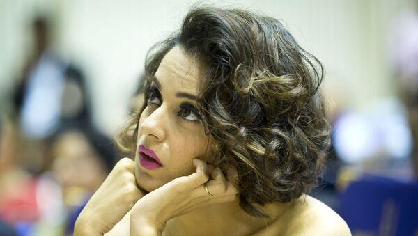 Indian actress Kangana Ranaut - Sputnik International