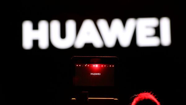 A cameraman records the Huawei stream product launch event in Barcelona, Spain 24 February 2020. - Sputnik International