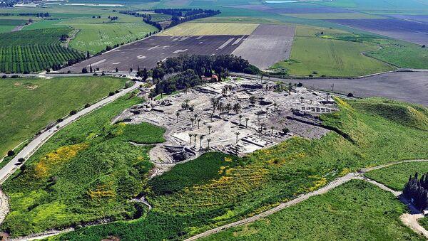 Tel Megiddo, northern Israel - Sputnik International