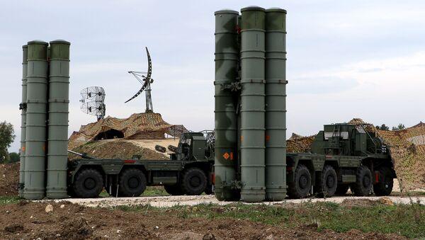 S-400 Triumf missile system  - Sputnik International