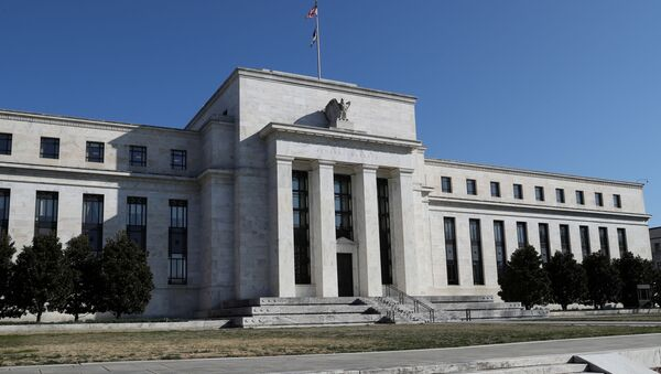 FILE PHOTO: Federal Reserve Board building on Constitution Avenue is pictured in Washington, U.S., March 19, 2019 - Sputnik International