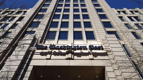 The One Franklin Square Building, home of The Washington Post, in downtown Washington, Friday, Feb. 8, 2019. - Sputnik International