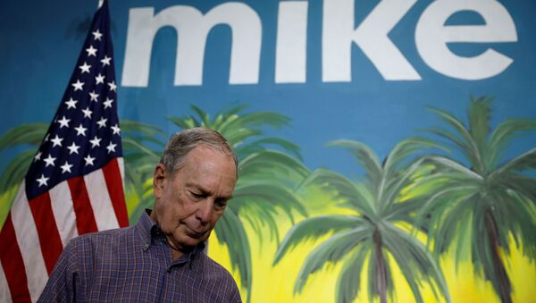 Democratic U.S. presidential candidate Michael Bloomberg waits to speak as he takes part in a press conference at his campaign office in Little Havana, Miami, Florida, U.S., March 3, 2020 - Sputnik International