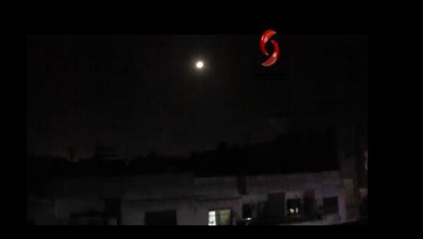Attack over Syrian Homs on 5 March 2020 - Sputnik International
