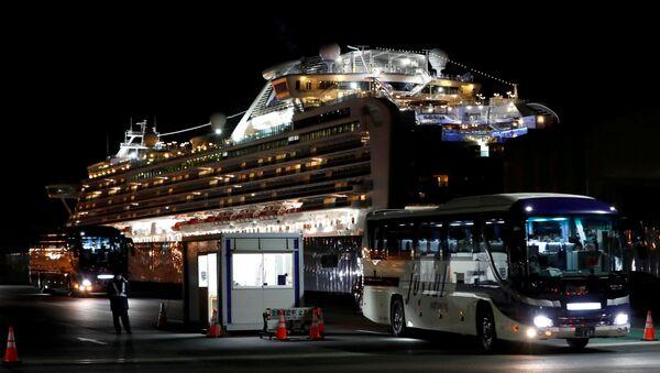 Cruise Ship Diamond Princess - Sputnik International