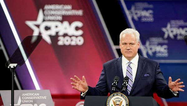 Matt Schlapp at the Conservative Political Action Conference annual meeting at National Harbor in Oxon Hill, Maryland - Sputnik International