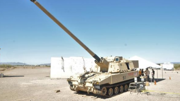 ERCA Autoloader is being tested for first time at Yuma Proving Ground - Sputnik International