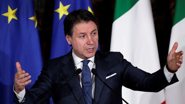 Italian Prime Minister Giuseppe Conte - Sputnik International
