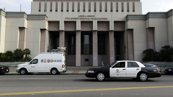The 77th Street Police station is seen south of downtown in Los Angeles - Sputnik International