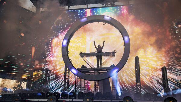 Zedd performs at the Coachella Music & Arts Festival - Sputnik International