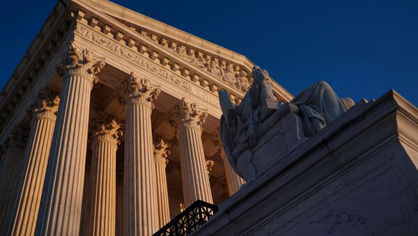 The Supreme Court building exterior seen in Washington, U.S - Sputnik International