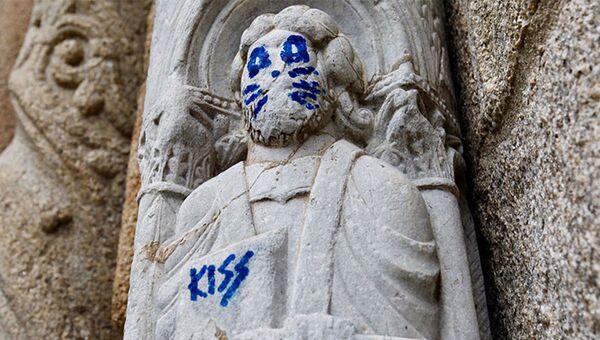 From Raphael to Banksy: How Vandals Ruin Artwork All Over the World - Sputnik International