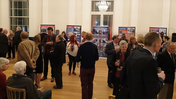 Stalingrad in British History Exhibition - Sputnik International