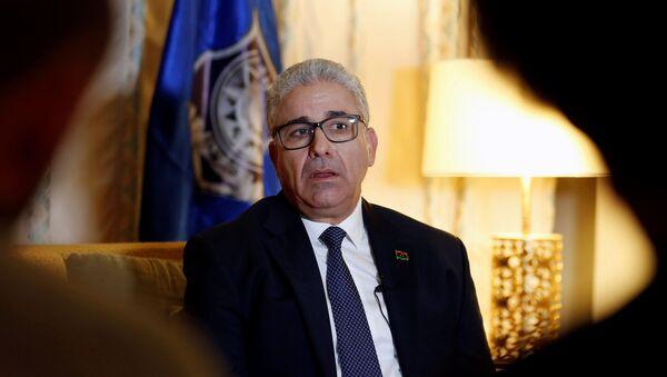 Libya's interior minister Fathi Bashagha - Sputnik International