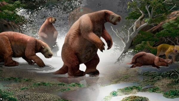 Palaeontologists Offer New Clues to One-Ton 'South-American Yeti' That Went Extinct 10,000 Years Ago - Sputnik International