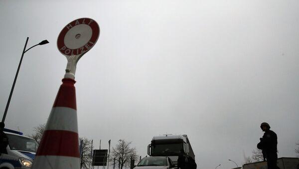 French-German border - Sputnik International