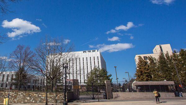The embassy of the Russian Federation in Washington, DC - Sputnik International